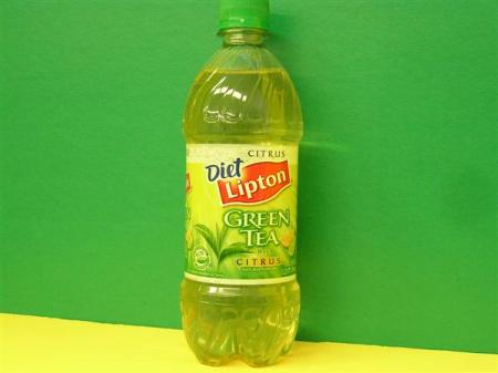 Diet Green  on Lipton Diet Green Tea